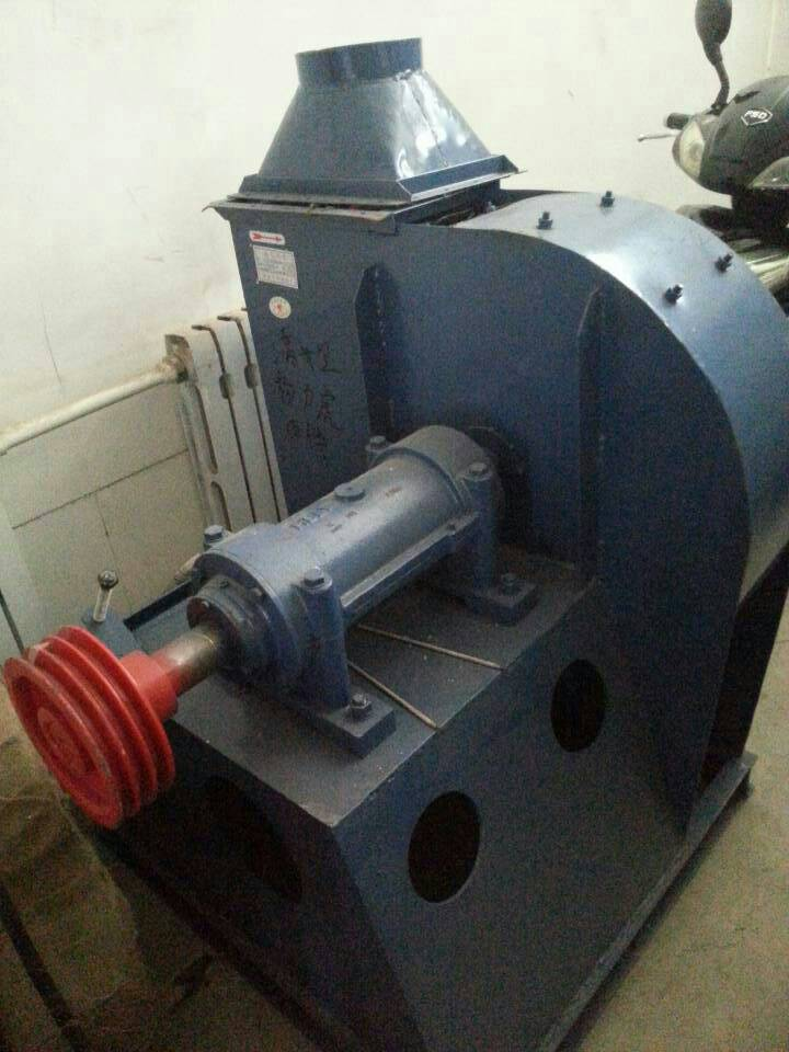 Вентилятор радиальный пылевой с 2-мя клиновидными ремнями WS-5