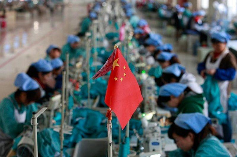 Размещение производства в Китае