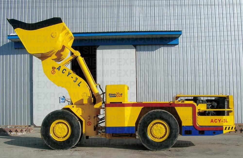 ACY-3L Diesel LHD Дизельный погрузчик Anchises