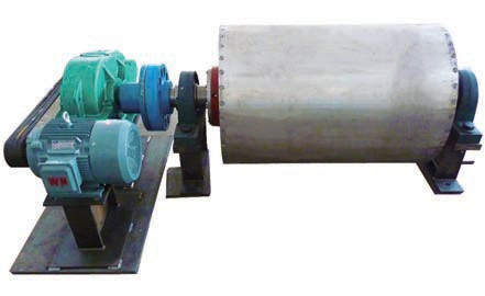 Магнитный барабан на постоянных магнитах