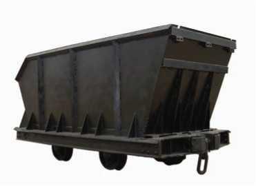 Узкоколейная рудничная вагонетка