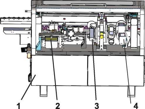Станок кромкооблицовочный автоматический ME 25