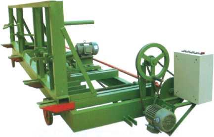 Тележка для перемещения пиловочного материала в комплектации с двигателем РСН4000