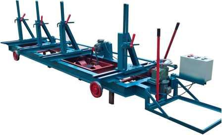 Тележка для перемещения пиловочного материала в комплектации с двигателем РСН5000