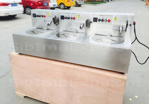 Темперирующая машина, для плавления и сохранения постоянной температуры шоколада